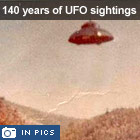 140 years of UFO sightings